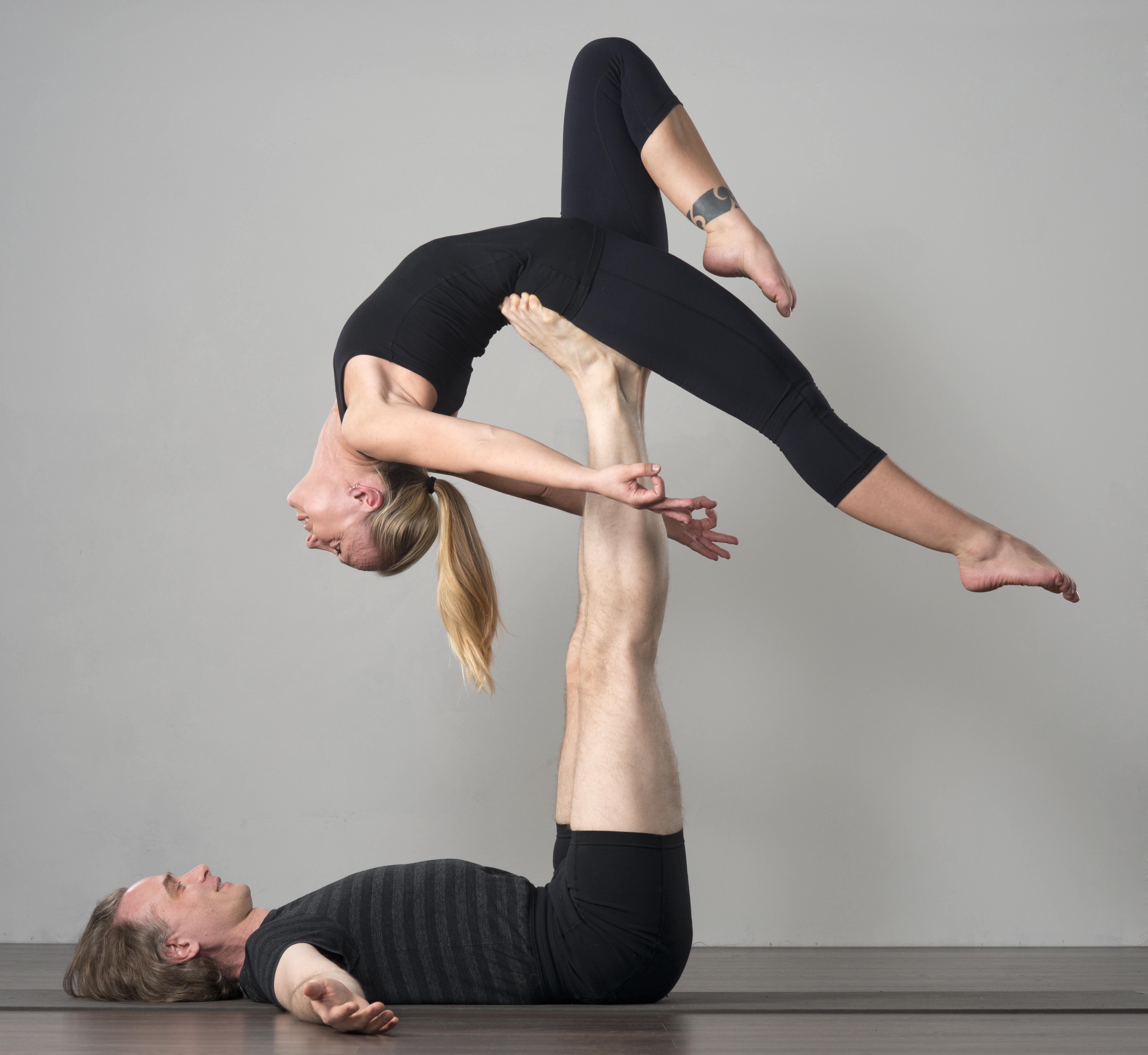 Ei Acro&Yogaa keväällä 2021 korona pandemian vuoksi